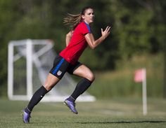 Alex Morgan || USWNT Olympic Prep in Chicago Ahead of Send-Off Match vs. South Africa (July 6, 2016)