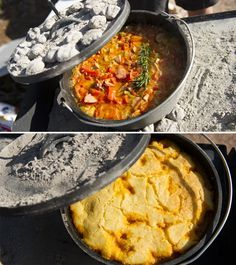 Gourmet Camping Recipes: Dutch Oven and Stove top Favourites (maybe not for backpacking but nice camping)
