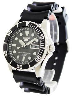 #Seiko 5 #Sports Automatic SNZF17J2 Men's Watch