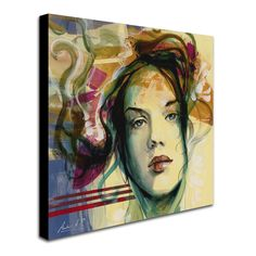 Blanca Mujer by Andrea Painting Print on Wrapped Canvas