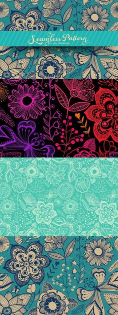 Floral Pattern. Patterns. $5.00