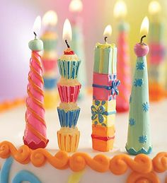 Party Candles Cute Happy Birthday Jenny Its Your