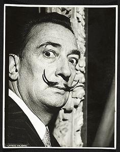 Citation: Salvador Dali, 1958 / Alfredo Valente, photographer. Alfredo Valente papers, Archives of American Art, Smithsonian Institution.