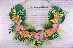 Trópusi virágkoszorúk - Sizzix 663599