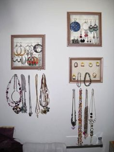 great jewelry organization idea