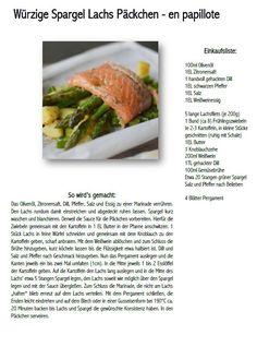 Spargel Lachs en papilotte - Salmon and asparagus parcels   Das Knusperstübchen