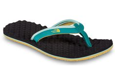 13c7364f73450 DLL Rainwear - The North Face - Women s Base Camp Mini Flip Flops  Turquoise
