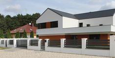 Zielona Góra - realizacje ogrodzeń — FENZ House Fence Design, Modern Fence Design, Entrance Gates, Fence Panels, Home Fashion, Garage Doors, Mansions, House Styles, Outdoor Decor
