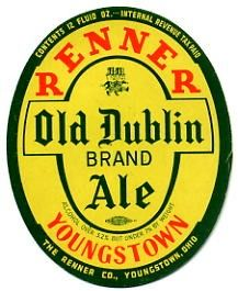 Renner Old Dublin Ale, Youngstown, OH