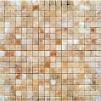 MS International, Honey 12 in. x 12 in. Gold Polished Onyx Floor and Wall Tile, THONONX1212 at The Home Depot - Mobile