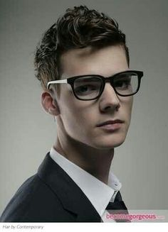 Curly Pompadour Hairstyle