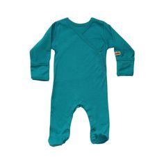 Organic Baby Clothes - Baby Pyjamas - Baby Pajamas - Blue, Natural, Pink or Smokey Black