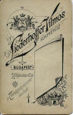 ~ 1890, Liederhoffer reverse/verzó | Flickr - Photo Sharing!