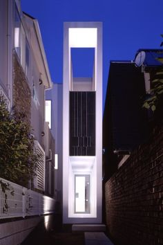 Flagpole House | Meguro-ku, Tokyo, Japan | Milligram Architectural Studio