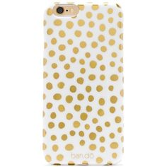 BaubleBar Petite Party Dots iPhone 6 Case ($26) ❤ liked on Polyvore featuring accessories, tech accessories, phone case and phones