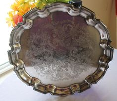 1970's Vintage Silver Plate Chippendale Style by SeacoastVintage, $17.00
