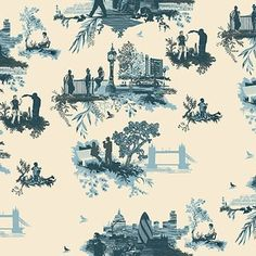 Timourous Beasties. Contemporary toile.