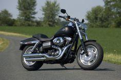 2008 Harley-Davidson Fat Bob - Static, Front Right 3/4