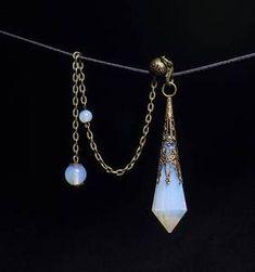 AAAAA Smelting Opalite Crystal Pendulum