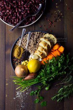 Terrine végétale aux haricots rouges, une recette vegan qui fait illusion ! - Cook'n Focus - Parfois laboratoire, parfois atelier photo, dans ce blog, la cuisine se conjugue à toutes les modes. Plats de tous les jours, traditionnels ou cosmopolites, amuse-bouche ou desserts, mais toujours avec une pincée de pixels.