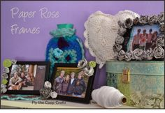 Fly the Coop Crafts: Paper Rose Frames, Snow Soup & Lilyhammer
