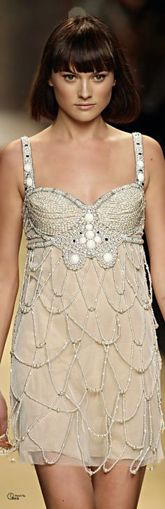 Jenny Packham ● Beaded Cocktail Dress