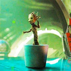 green, Marvel, and baby groot image Marvel Dc, Deadpool, Gardians Of The Galaxy, Pokerface, Bucky Barnes, Kawaii, Winter Soldier, Marvel Movies, Marvel Cinematic Universe
