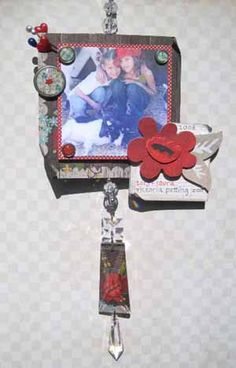 Scrappy Sun Catcher By: Tombow Adhesives Tombow, Sun Catcher, Scrapbook, Scrapbooks, Scrapbooking