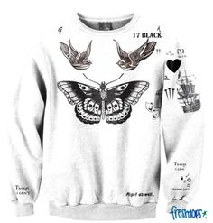 Styles Tattoos Sweather #onedirection #freshtops