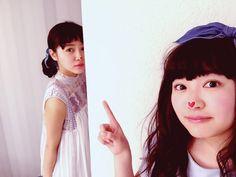 私立恵比寿中学 公式ブログ - *光る石見つけて→たなひー* - Powered by LINE 柏木ひなたと中山莉子