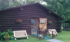 Logging Camp in Park Rapids MN.  Best place for breakfast!!