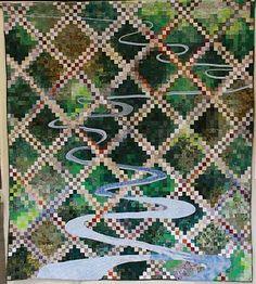 GREAT Irish Chain quilt