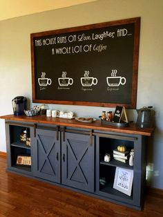 Top 60 Best Coffee Bar Ideas - Cool Personal Java Cafe Designs D. - creativeelife - Top 60 Best Coffee Bar Ideas - Cool Personal Java Cafe Designs D. Coffee Shop, Kitchen Bar, Bar Furniture, Home Decor, Bars For Home, Home Coffee Stations, Coffee Bar Design, Bar Design, Cafe Design