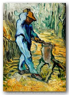 Vincent van Gogh (1853-1890) – The Woodcutter. Van Gogh Museum, Amsterdam. | Flickr - Photo Sharing!