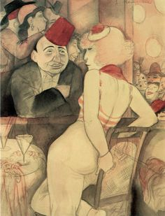Jeanne Mammen ~ The Afashionada ~Google Search
