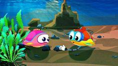 Dessin animé. Flippy le sous-marin construit une MAISON. Vidéo éducative...