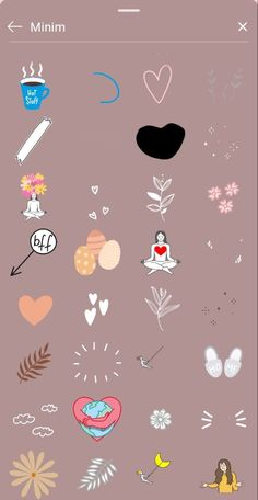 Instagram Emoji, Instagram Frame, Foto Instagram, Instagram And Snapchat, Creative Instagram Photo Ideas, Instagram Story Ideas, Bullet Journal Ideas Pages, Instagram Highlight Icons, Cute Stickers