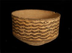 """Indus Valley Snake Bowl Origin: Pakistan-Western India Circa: 3500 BC to 2000 AD Dimensions: 4.75"""" (12.1cm) high x 8.5"""" (21.6cm) wide Collection: Asian Art Medium: Terracotta Condition: Very Fine £8,000.00"""