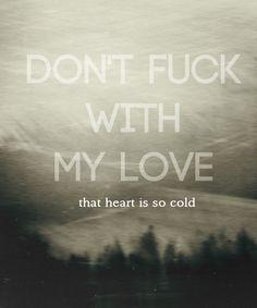 Don't - Ed Sheeran. New song. OMG, Ed, I love you.