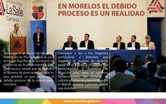 En Morelos el debido proceso es una realidad.