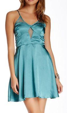 ASTR | Jacquard Slip Dress