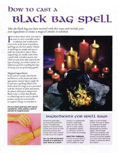 Black bag spell