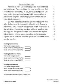 100 Free Fluency Passages (just create free account) plus free forms