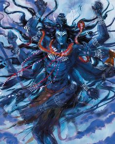 Shiva in his Tandava dance, the source of the cycle of creation, preservation and dissolution | Myths of India at http://www.liquidcomics.com/titles/mythsofindia/index.html#