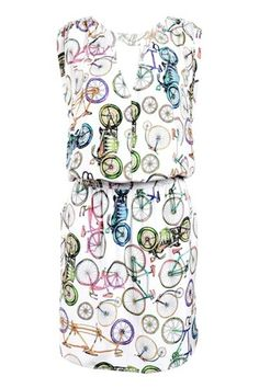 Turquoise and Gold wheel gala print split open back dress : Rs. 12,950/- http://www.findable.in/turquoise-gold | Findable.in