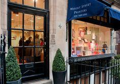 Mount Street Printers   Mayfair, London