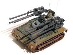US M50A1 Ontos, ACADEMY 1/35 scale. By Steve Zaloga. Vietnam War. #diorama #vignette #scale_model