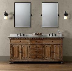 St. James Double Vanity Sink