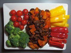 Rychlovka na 10 minut: Dýně Hokaido s fazolemi Vegan V, Pavlova, Carrots, Sausage, Beef, Vegetables, Recipes, Food, Meat