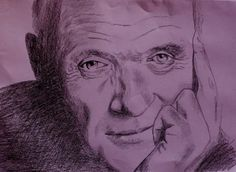 Anthony Hopkins - Creative Art in Sketching by Marina Mara in Portfolio Portraits at Touchtalent